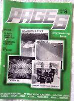 63166 Issue 08 Page 6 Atari Users  Magazine 1984