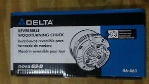 Delta Industrial 46-461 reversible Nova G3-D Woodturning Chuck