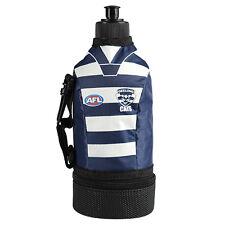 AFL Team Logo Jersey Water Bottle With Cooler - Geelong Cats - 750ML - BNWT
