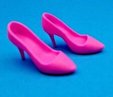 Barbie Shoes Fashionistas CURVY & TALL Doll #39 Bright Pink Point Toe Heels