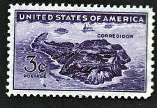 ⫸ Scott 925 US Stamp, Corregidor, 3¢ MNH OG Unused