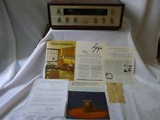 The Fisher FM-1000 FM1000 broadcast FM tuner all tube
