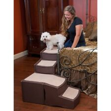 Pet Gear Easy Step Bed Stair Chocolate 2day Delivery