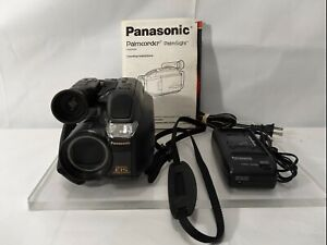 Panasonic PV-L658D VHSC Video Camera Camcorder HD 50x Zoom TESTED WORKS W/MANUAL