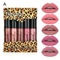 5x/Set matte gloss lip glaze cases lip gloss lipsticks cup up make O9Y3
