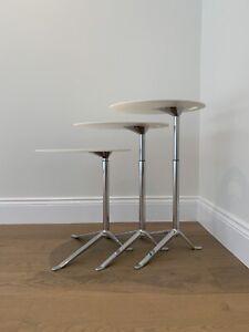 x1 Fritz Hansen Little Friend Height Adjustable Side Table Rrp £1052