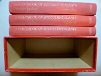 """""""A HANDBOOK OF SUCCULENT PLANTS"""".  Three Volumes in a Slipcase. 1986"""