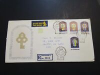 Singapore 1977 Bank Series FDC / Hinge on Front / Light Creasing - Z3634