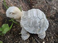 "Latex turtle mold  plaster cement mould 3""L x 2.5""H"
