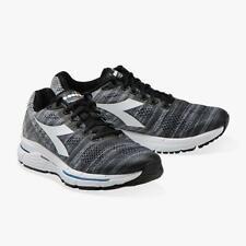 Diadora Men's Mythos Blushield Elite 2 Running Shoe, Gray/Black, 10 D(M) Us