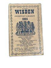1944 Wisden Almanack Softback