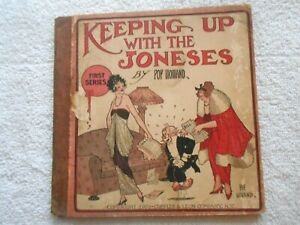 KEEPING UP WITH THE JONES #1-(1920)-CUPPLES & LEON CO. N.Y.