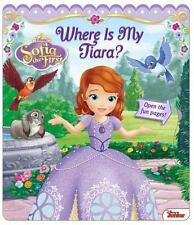 NEW - Disney Sofia the First: Where Is My Tiara? (Open Door Book)