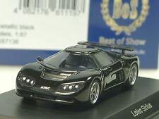 BOS Lotec Sirius, schwarz-metallic - 87136 - 1/87