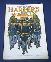 1909 March 6 Harper's Weekly Magazine Inauguration Pres. W. Taft Theo. Roosevelt