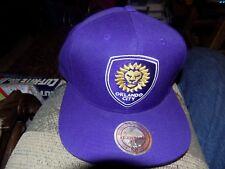 Mitchell & Ness Orlando City Soccer Club BRAND NEW Snapback cap hat OCSC MLS