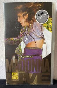 Madonna - Live - The Virgin Tour (VHS, 1998)