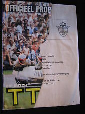 Program Dutch TT Assen 29 juni 1985 (front cover is half missing) (TTC)