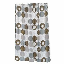 "Carnation Home Extra Long ""Madison"" Fabric Shower Curtain"