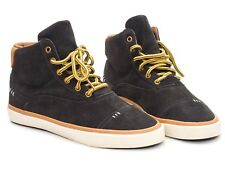 Radii Napoli Mid VLC Charcoal Brown Suede Mens Trainers Shoes Size UK 6 Brand ne