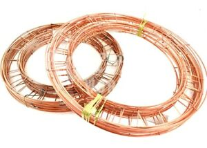 """12"""" WIRE COPPER RINGS FOR CHRISTMAS DOOR WREATH MAKING & TATTING - HOBBY HOME"""