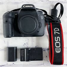 Canon EOS 7D 18.0 MP Digital SLR Camera - With strap, Charger and Battery