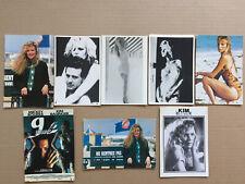 Lot  8  Cartes Postales   KIM  BASINGER   Postcards  Sexy