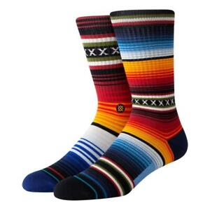 Stance Curren St Crew Socks - Red NEW