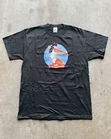 Bettie Page She Devil T-Shirt - 90s Olivia De Berardinis Vintage Tee Size XL NOS