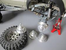 4x Aluminum Wheel Rim Adapter Hub Convert 12MM Tamiya 1/10 RC Toyota Bruiser