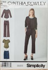 Simplicity Sewing Pattern Blouse Trousers Skirt 12-20 Ladies 1783 Rowley Uncut