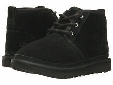 Kids UGG Neumel II Boot Suede Upper 1017320K Black 100% Original Brand New