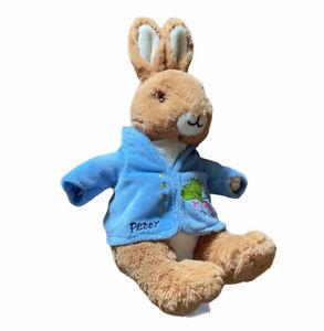 "Peter Rabbit Plush Stuffed Toy 9"" Beatrix Potter Toy Stuff Animal Bunny"