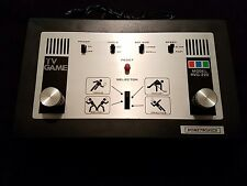 Ventage TV Video Game System Hometronics HVG-220 1977 Untested Good Condition