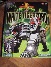 Power Rangers Legacy WHITE TIGERZORD Morph in Megazord Bandai #97206 NEW
