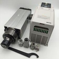 Woodworking 2.2KW Spindle Motor ER25 220V 18000rpm+3.7KW VFD Inverter Router Kit