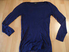 SISTERS Point schöner Pullover blau Gr. L TOP ZT316