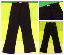 Gang Business Hose Anzugstyle Schwarz mit Bügelfalte Polyester W26 NEU