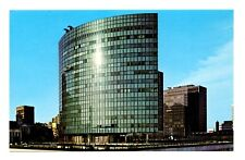 Elliptical Office Building Postcard Hartford Connecticut Phoenix Mutual Life 1st