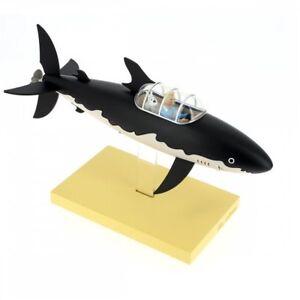 TiinTin TIM & STRUPPI Haifisch U-Boot Kunstharz 46402 MOULINSART ca.26,5cm L*
