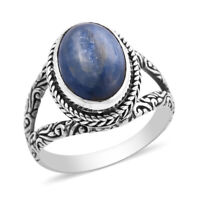 BALI LEGACY 925 Sterling Silver Kyanite Solitaire Ring Jewelry Size 10 Ct 5.3