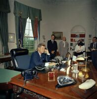 President John F Kennedy Calls Former President Harry Truman  8x10 Picture Celeb