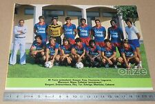 CLIPPING POSTER FOOTBALL 1980-1981 D2 AS BEZIERS