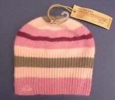 New & Unused Fat Face Ladies Woolley Hat Beanie BNWT Pink & Grey