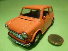 WELLY VINTAGE MORRIS MINI COOPER - ORANGE 1:24? LHD - RARE - GOOD PULLBACK