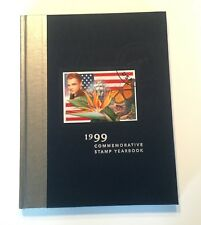 1999 USA COMMEMORATIVE STAMP YEARBOOK-HARDCOVER ALBUM with MNH STAMPS