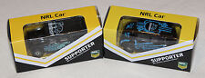 Penrith Panthers 2014 + 2015 NRL Kids Collectable Mini Model Car Twin Pack New