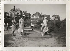 PHOTO ANCIENNE - VINTAGE SNAPSHOT - SPORT LOISIRS MINI GOLF MODE - FASHION 1