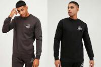 Kings Will Dream Mens New KWD Crew Neck Sweatshirt Long Sleeve Black Grey