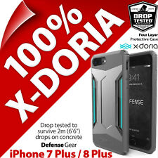 X-Doria Defense Gear Protection Robuste étui coque Apple iPhone 6 6S 7 8 PLUS